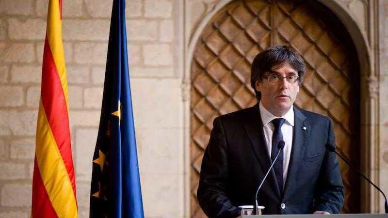 dichiarazione d'indipendenza della Catalogna