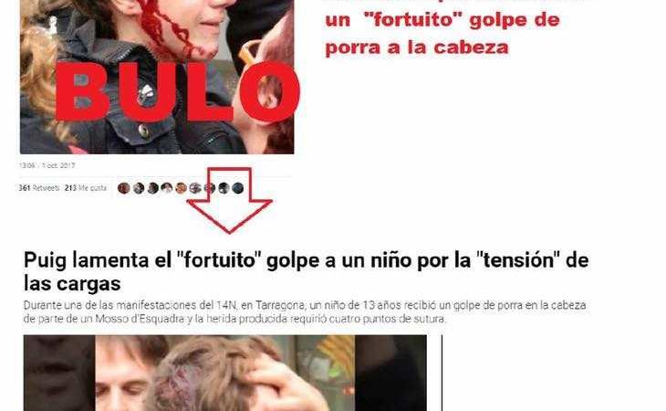 Bufala feriti Catalogna