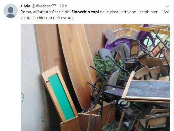 roma scuole chiuse