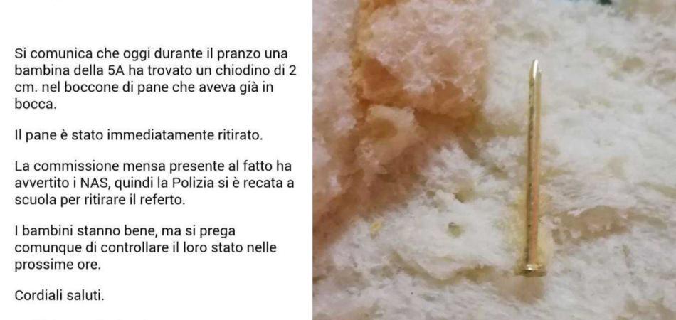 chiodo nel pane