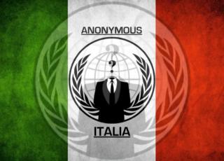 Anonymous ha rubato documenti a Palazzo Chigi