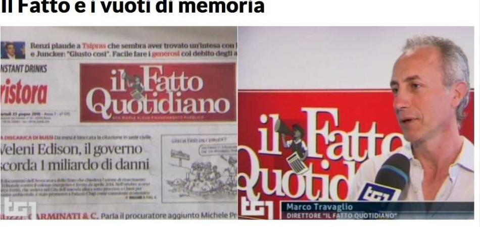 Repubblica e Il Fatto Quotidiano