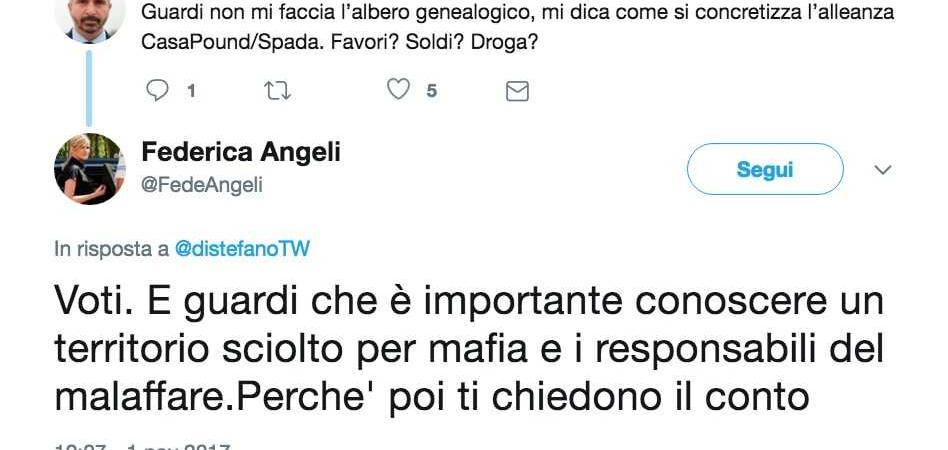 Federica Angeli CasaPound
