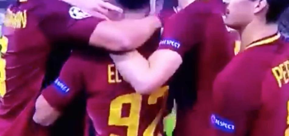 Perotti palpeggia El Shaarawy