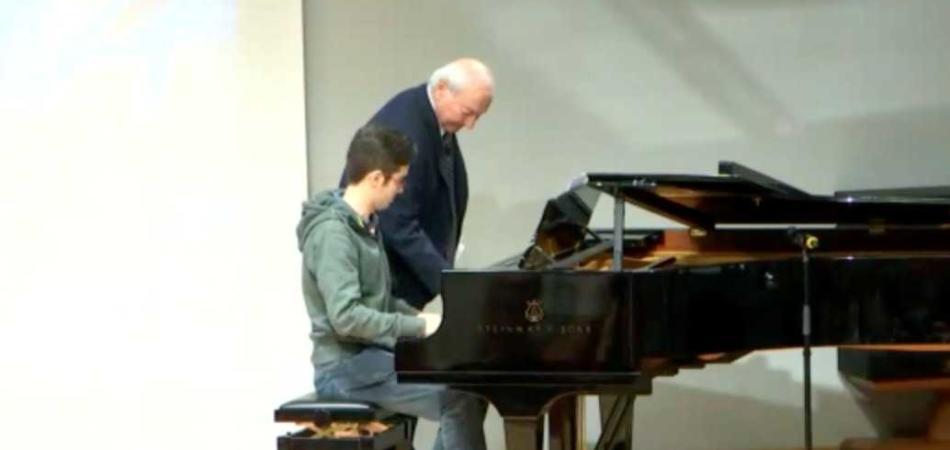 Piero Angela pianoforte
