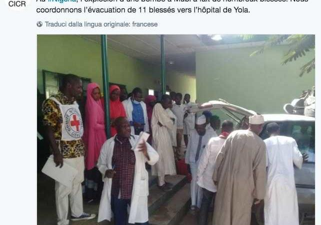 attentato alla moschea in Nigeria