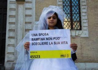 sposa bambina a Carpi