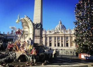 presepe di piazza San Pietro