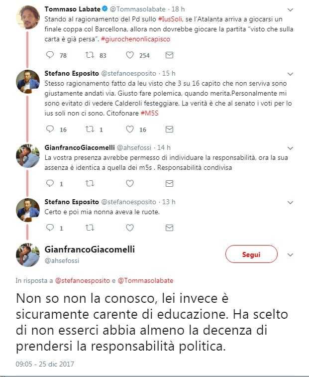 Ius soli, i nuovi italiani scrivono a Mattarella: