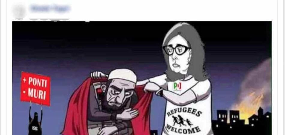 Facebook censura vignetta