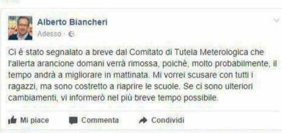 bufala Sanremo