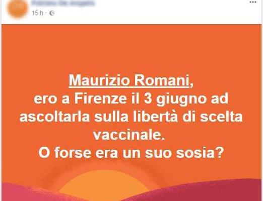 senatore free vax