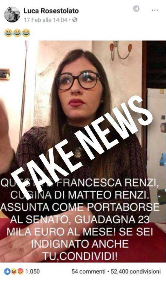 La vera storia della cugina di Matteo Renzi (e no, non è come l'ha raccontata lui)