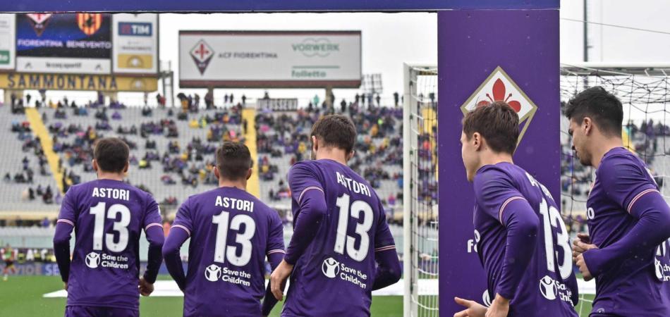 Fiorentina maglia Astori