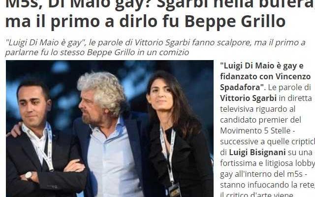 Di Maio gay
