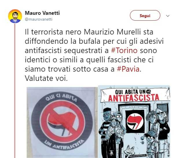 Adesivi antifascisti