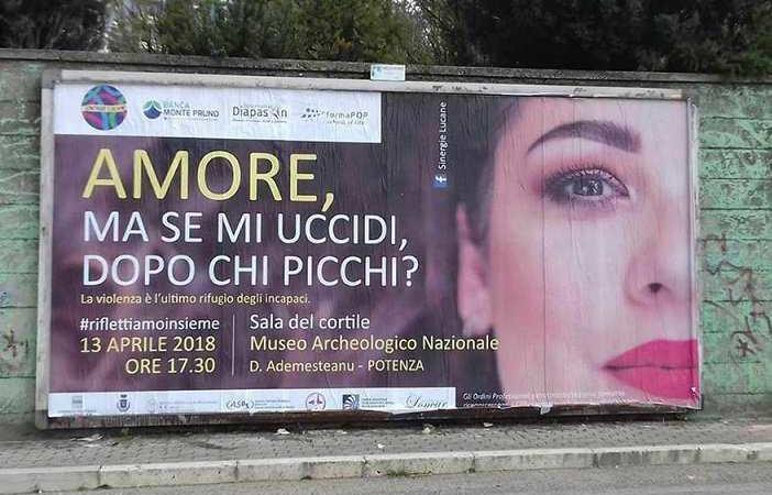 campagna femminicidio potenza