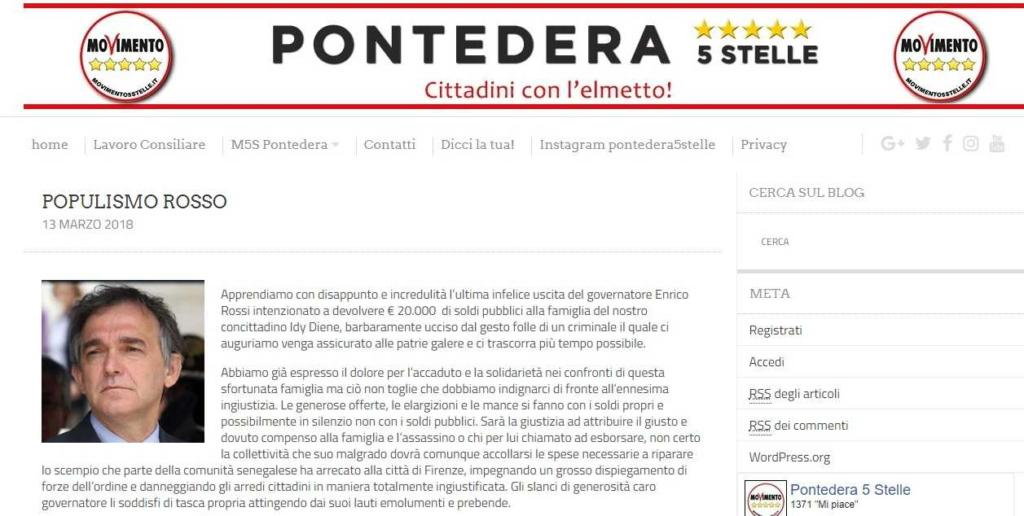 M5S Pontedera