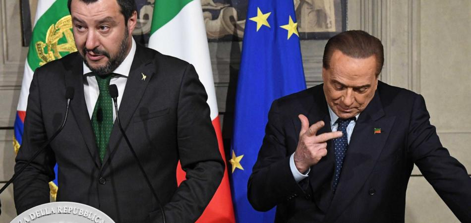 Berlusconi-Salvini litigio Juve a consultazioni