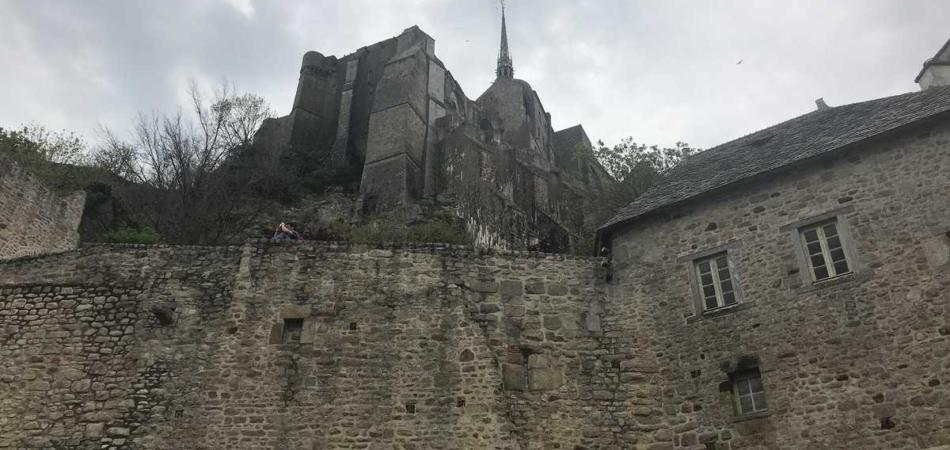evacuato Mont-Saint Michel