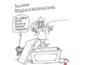 vignetta Pasqua Vauro