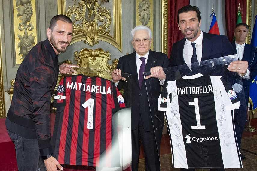 Mattarella: l'arbitro non sbaglia se i giocatori lo aiutano