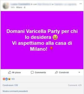 varicella party